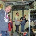 Michal OM2DX, Robo OM1UW and Roman OM3EI